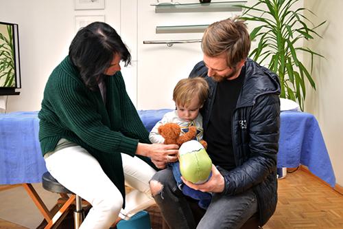 Bild einer Behandlung eines Kindes